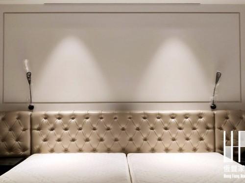 建北酒店造型床頭實績